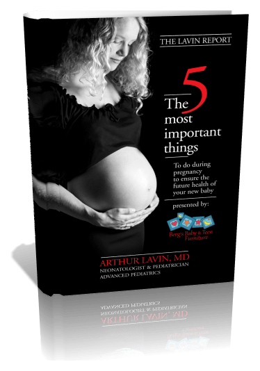 The 5 Most Important Things | Pregnancy, 3D Book Cover