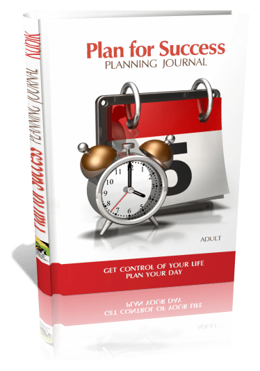 Plan for Success, Adult | Planning Journal, 3D Book Cover