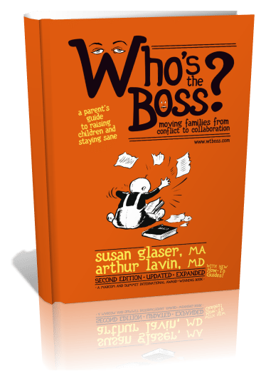 Who's The Boss? 3D view of book