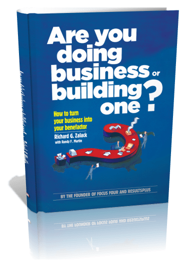 Are You Doing Business or Building One? | 3D Book Cover