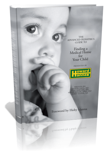 Finding a Medical Home for Your Child, 3D Book Cover