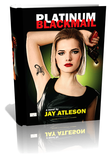 Platinum Blackmail | First Edition, 3D Book Cover