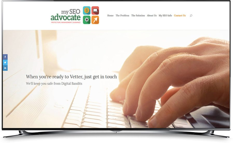 My SEO Advocate website home page