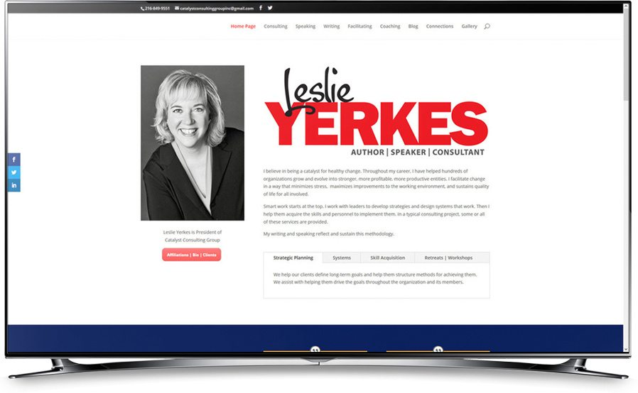 Leslie Yerkes Website Home Page