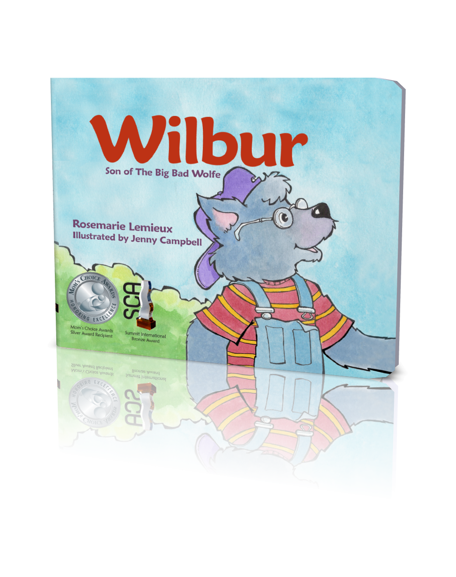Wilbur, 3D Book Cover