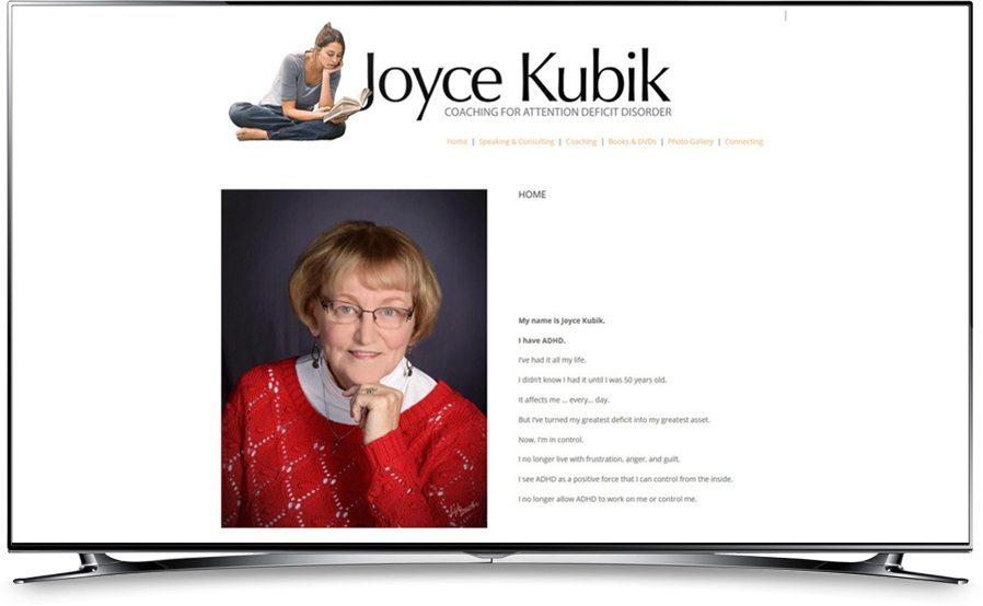 Joyce Kubik website home page
